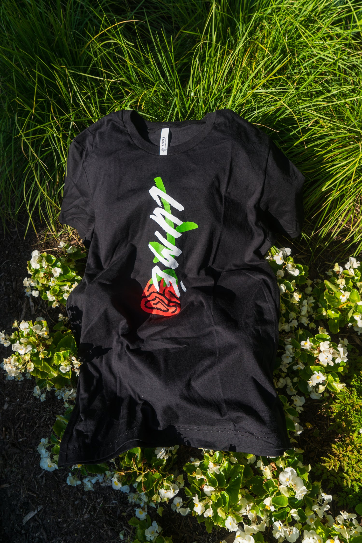 Image of Lumé Black Rose Tee
