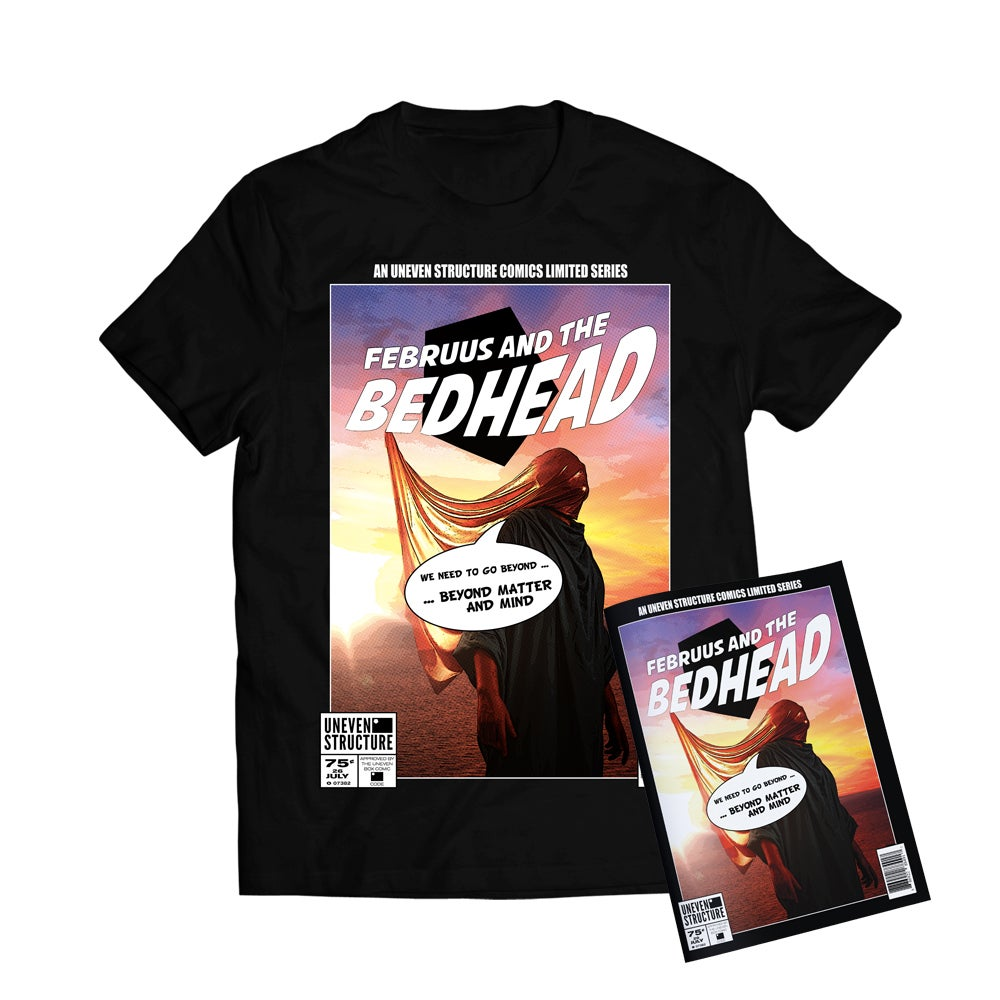 Image of Bundle: 'Innocent' Black T-Shirt + Signed Comic Book // LIMITED EDITION
