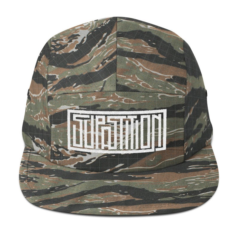 Image of SUPASTITION - 5 Panel Cap (4 colors)