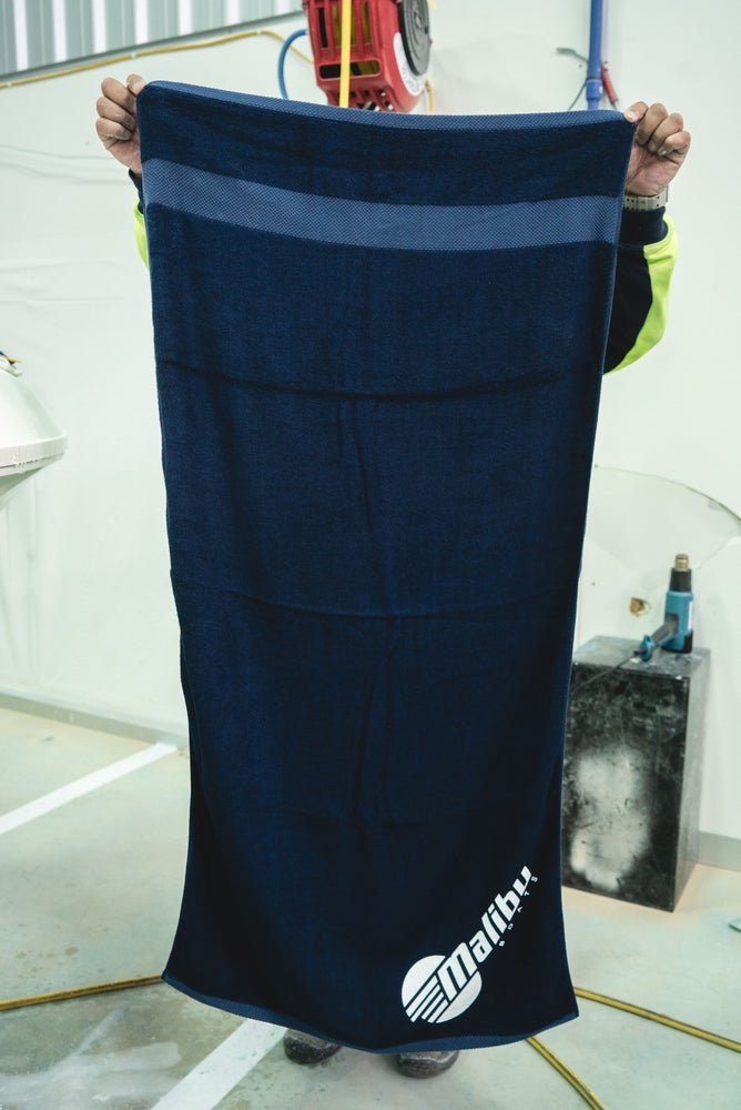 Image of Malibu Bamboo Towel - Navy Blue