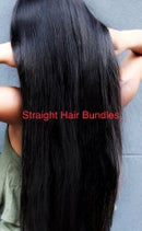 """Image 2 of 20"""" Remy Straight Hair single bundle"""