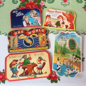 Image of Vintage Needle Books
