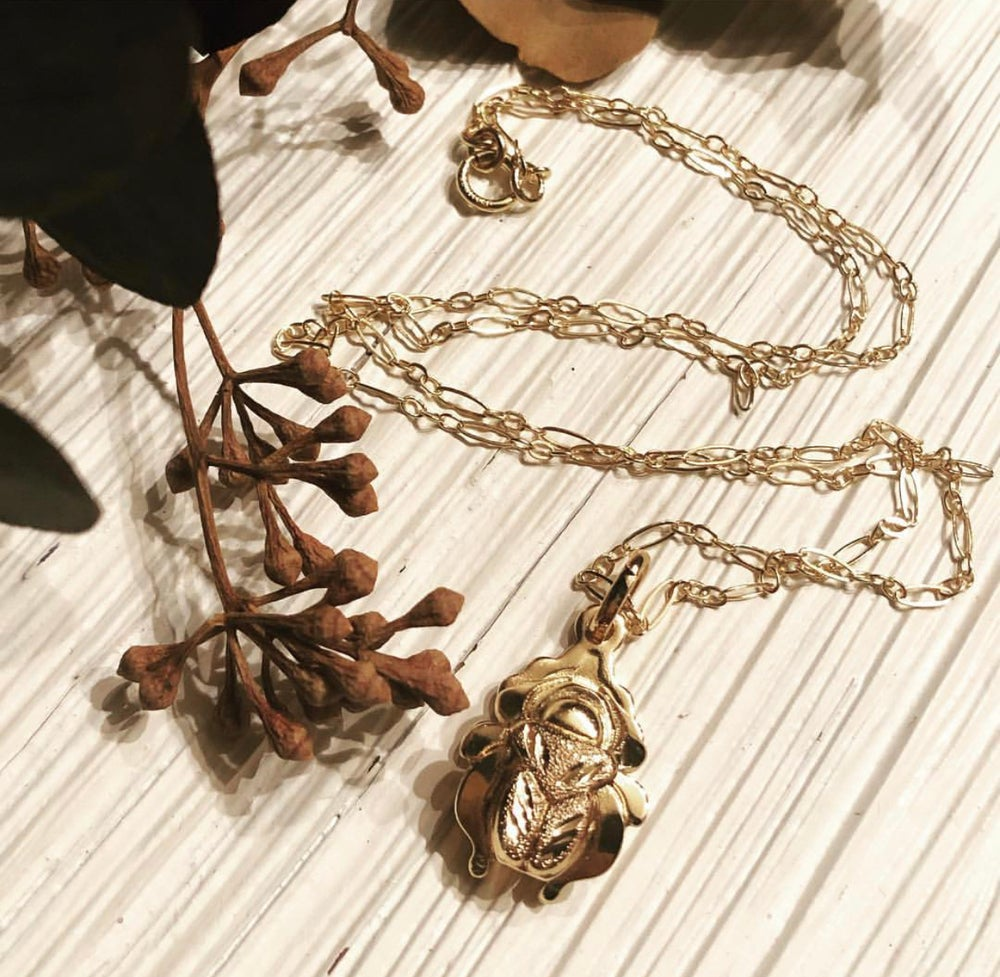 Image of Scarab Necklace