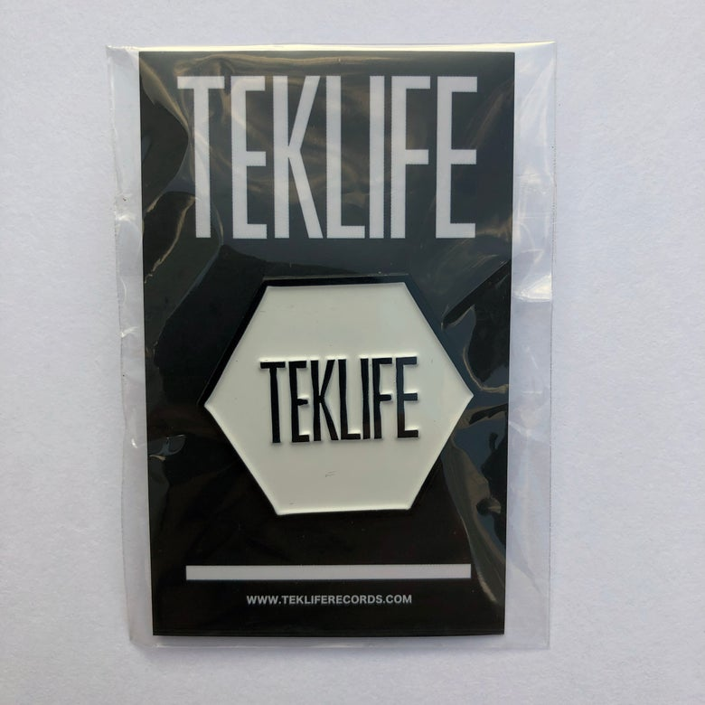Image of TEKLIFE ENAMEL PIN
