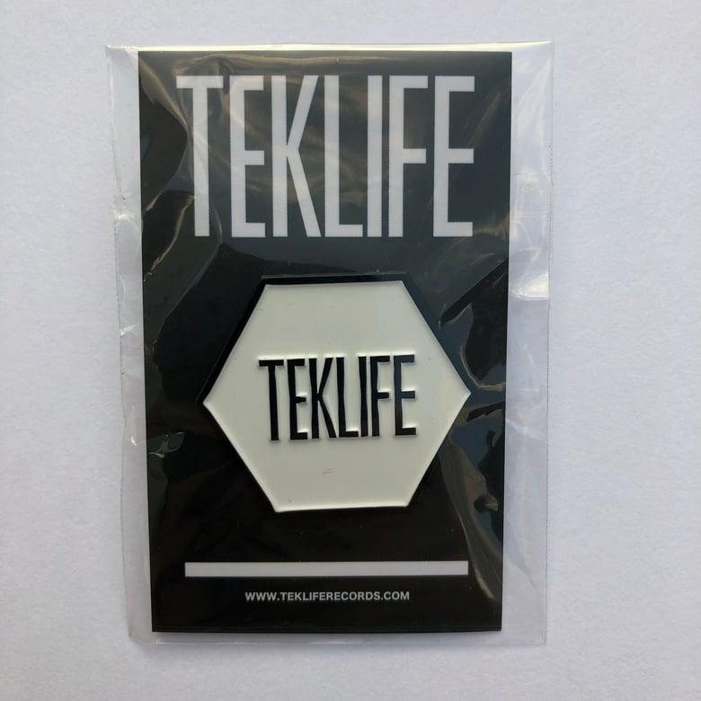 Image of TEKLIFE ENAMEL PIN