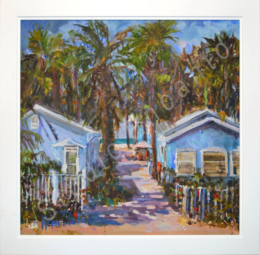 Image of Blue Heron Cottages by Helen Tilston