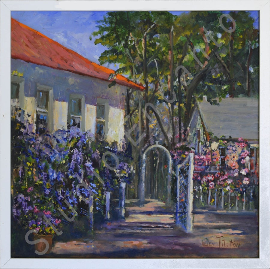 Image of Cottage Garden by Helen Tilston