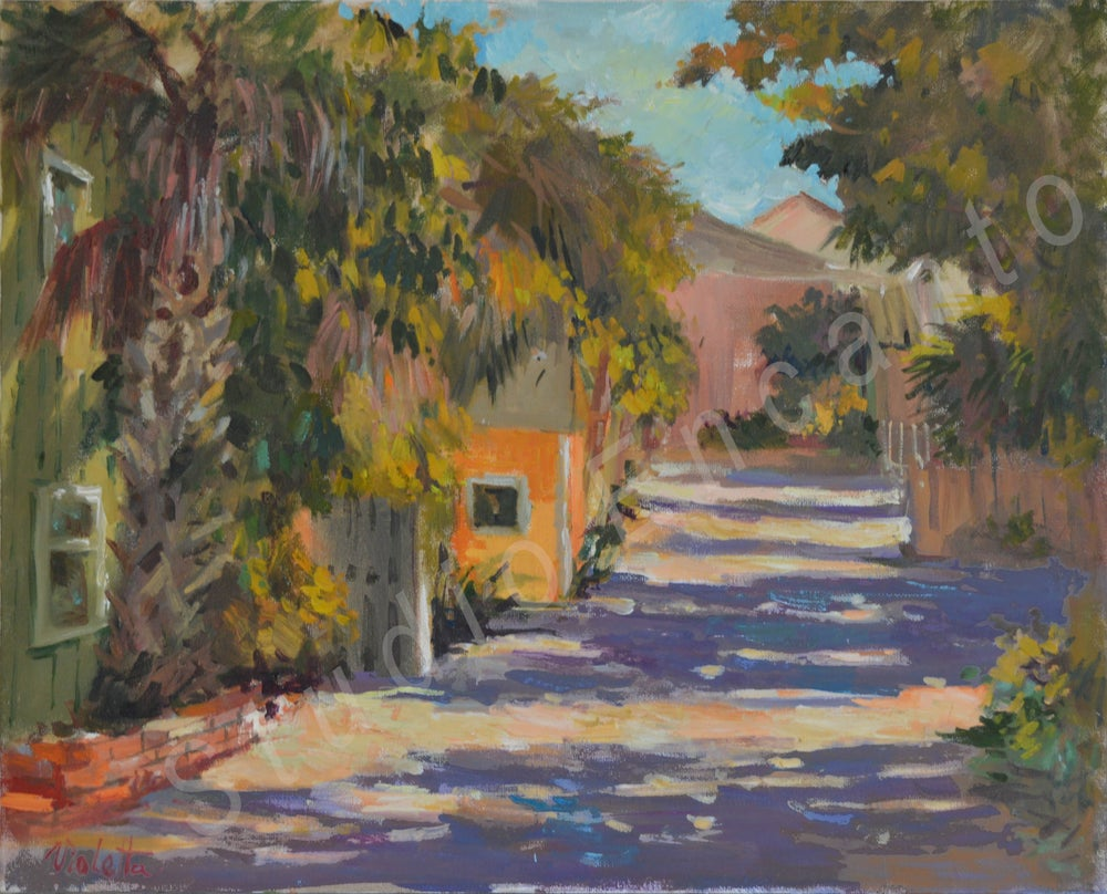 Image of Beach Trail by Violetta Chandler