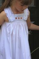 Image 1 of Pink Bitty Dot Pumpkin Dress & Bubble