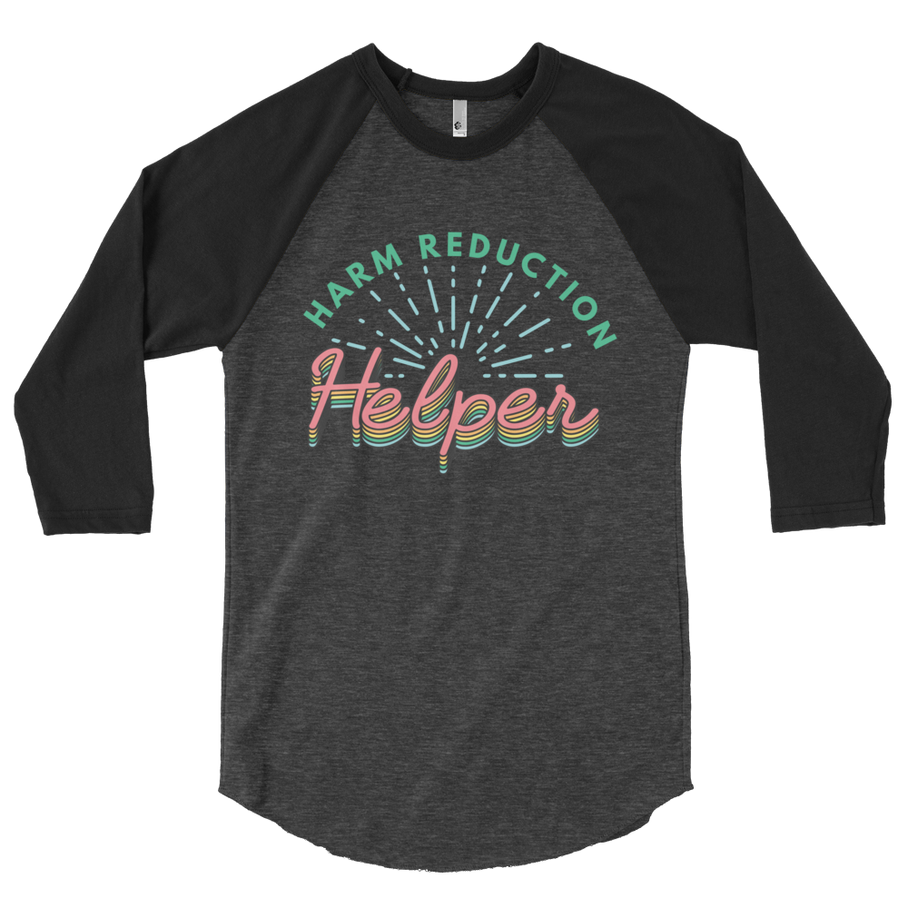 Image of Harm Reduction Helper Raglan
