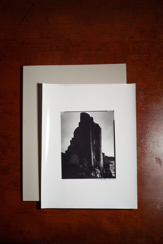 Image of Safe Book + Darkroom Print Rock