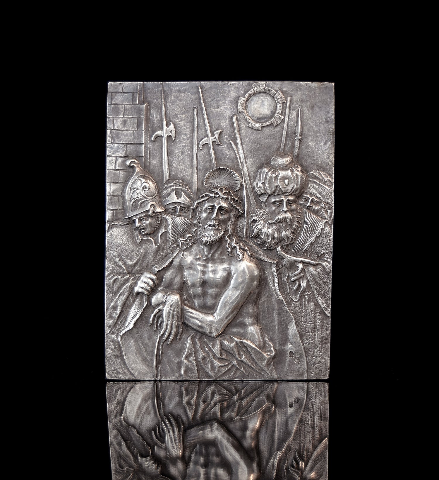 Image of Silver relief depicting the Presentation of Christ by Christoph Lencker