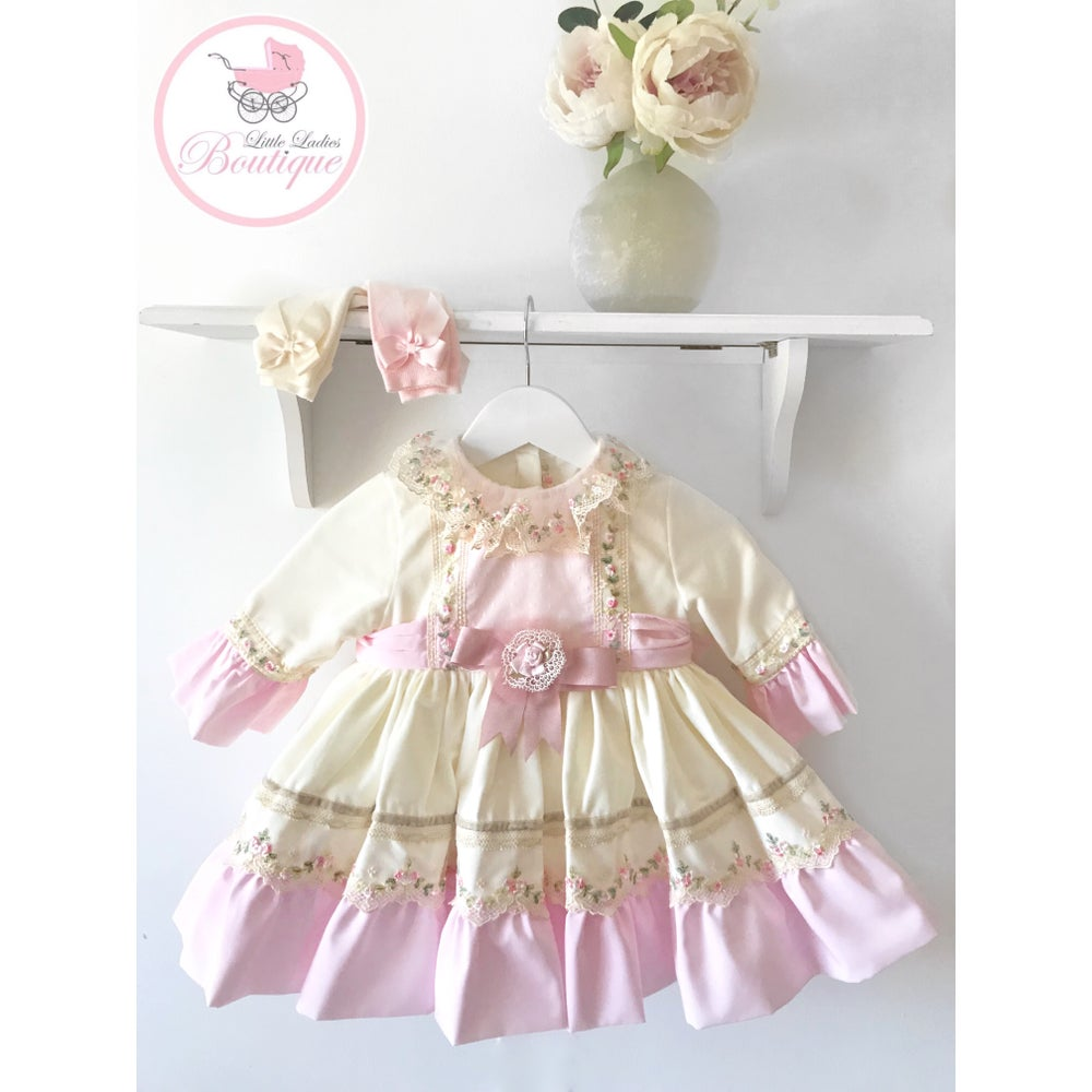 Image of Milana puffball dress