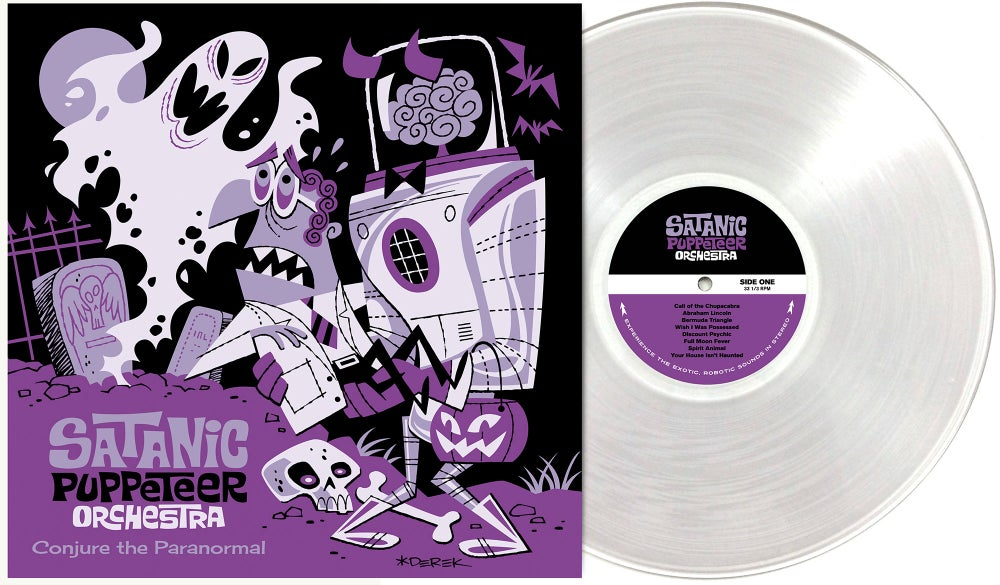 "Image of Conjure the Paranormal 12"" EP"