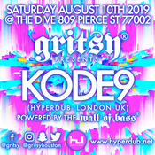 Image of Gritsy presents KODE9