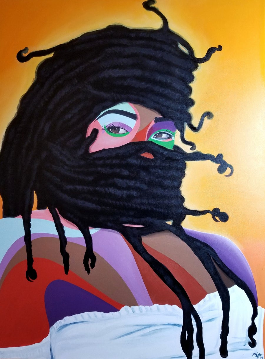 "Image of ""Warrior"" - ORIGINAL PAINTING"