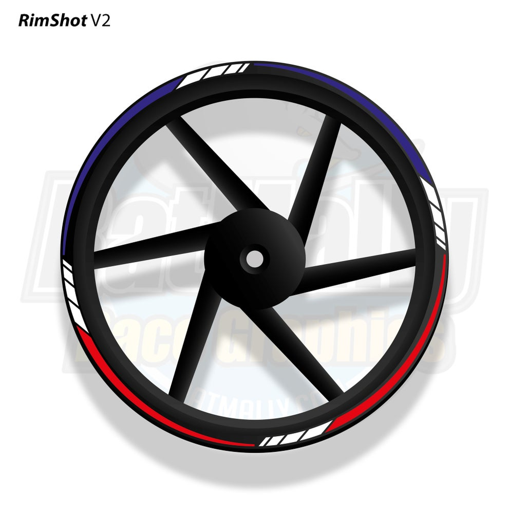 "Image of ""RimShot"" Wheel Stripes 17"""