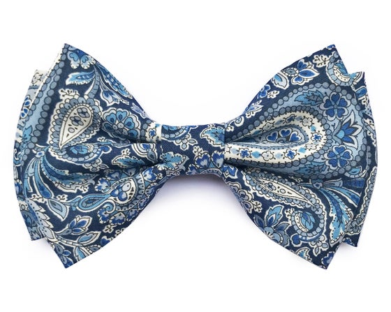 Image of Paisley pre-tied bow tie