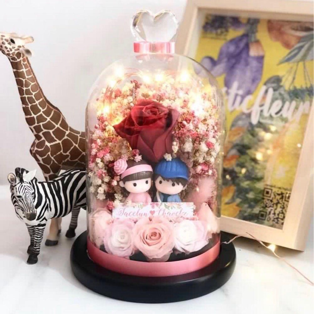 Image of Fairy Light in a Bell Jar