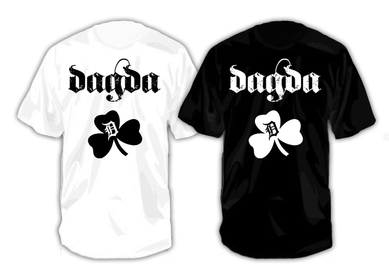 Image of Dagda Black Irish T