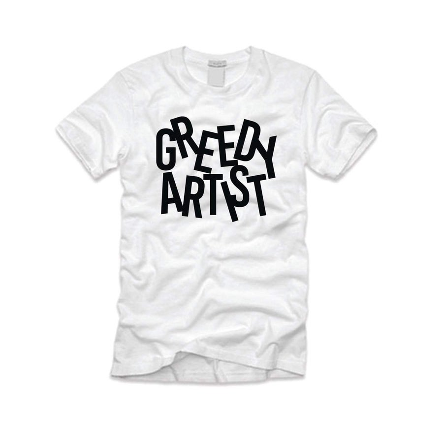 Image of Greedy tee(white)