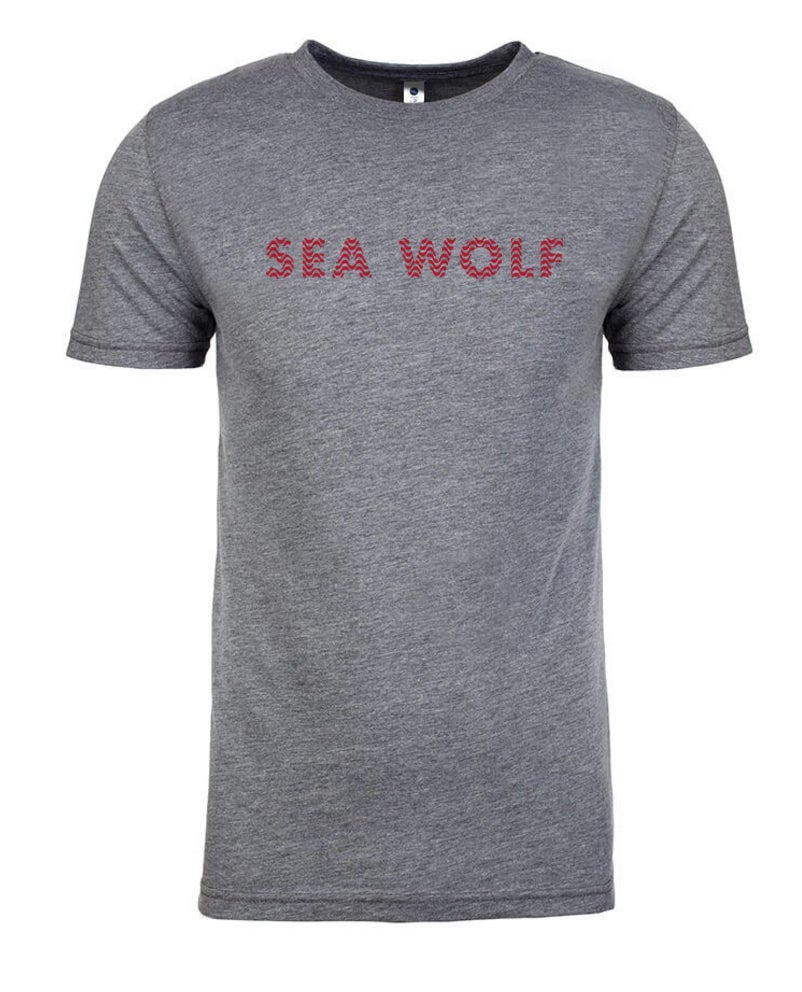 Image of Wave Logo Tee - heather gray