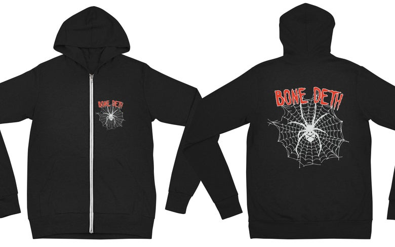 Image of Bone Deth Hoodies - 5 logos
