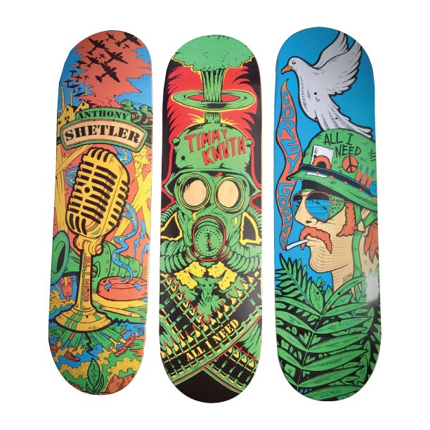Image of Original Wartime Series skateboards