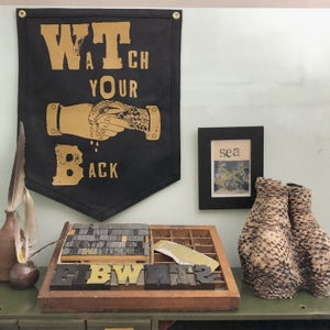 Image of Watch Your Back Flag