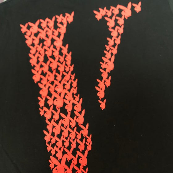 Image of VLone Playboy Playboi Carti Atlanta Pop Up Tee - Size Small