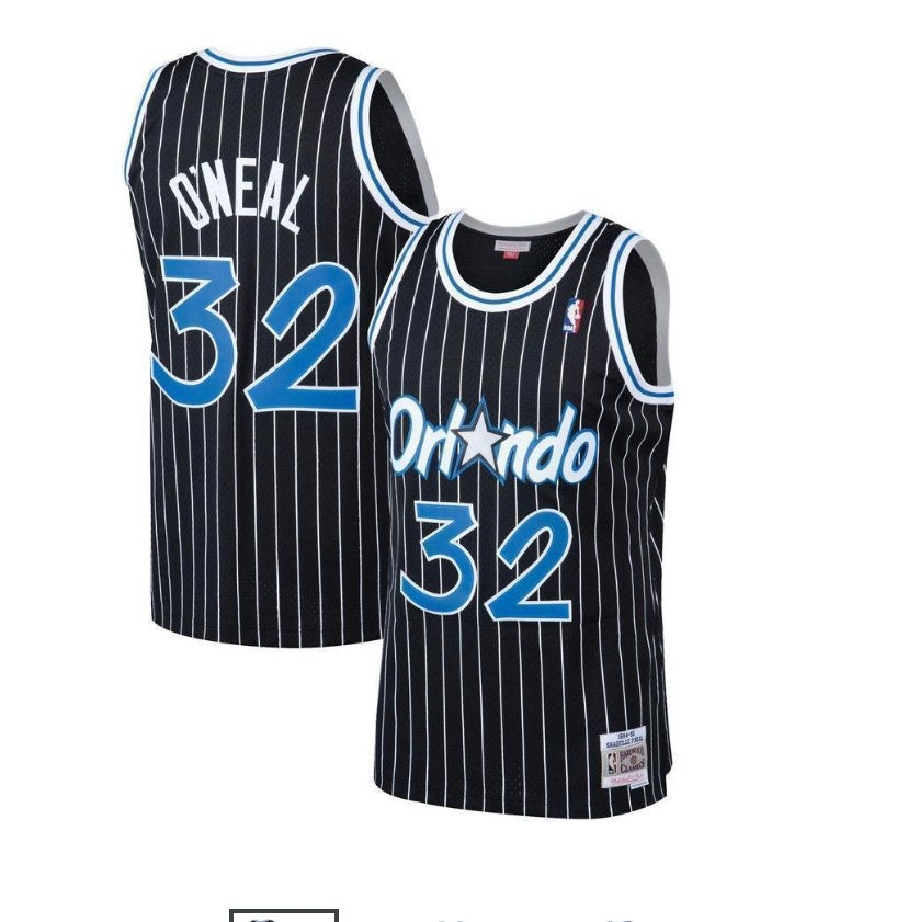 Image of Shaq Orlando magic jersey