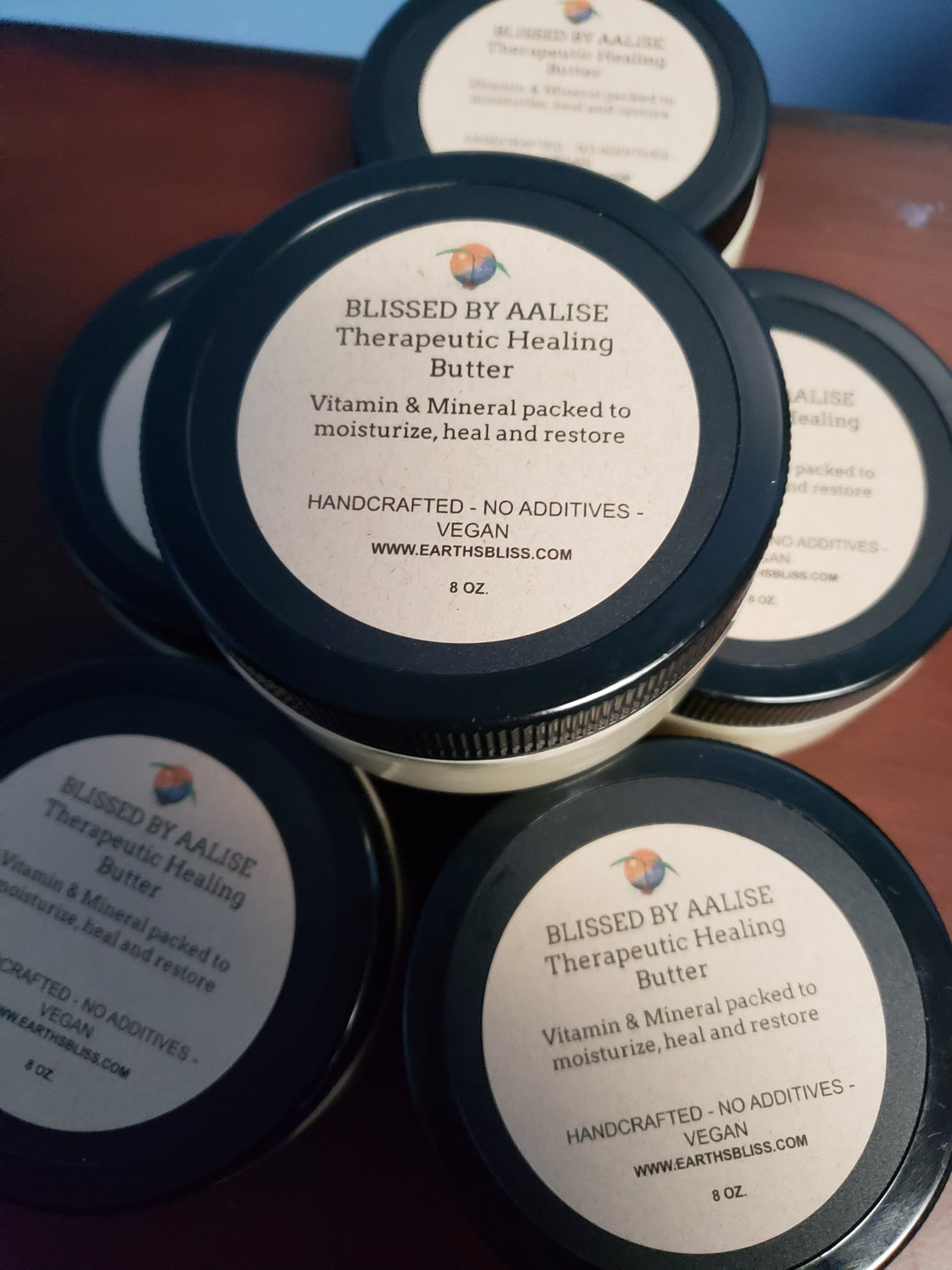 Image of Blissed by Aalise Therapeutic Healing Butter 8oz