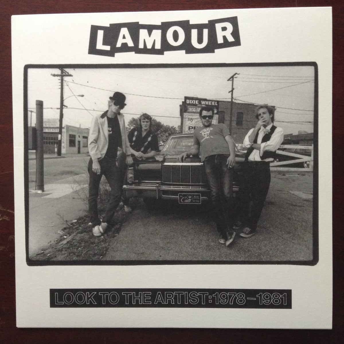 Image of L'Amour: Look to the Artist LP 2018
