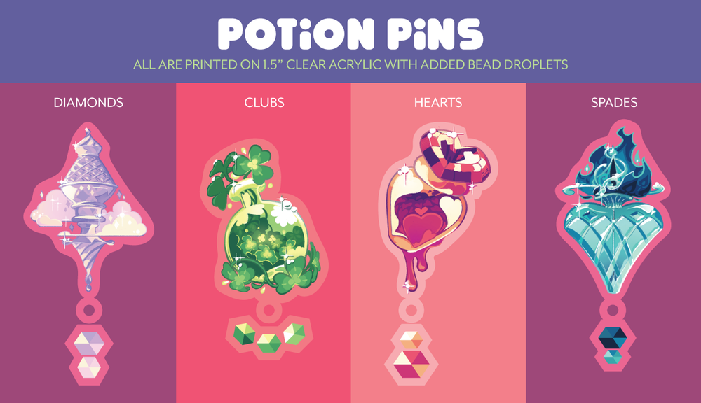 Image of Potion Pins