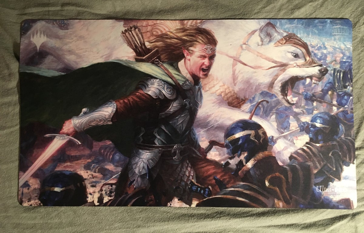 Image of Tolsimir, Friend to Wolves playmat