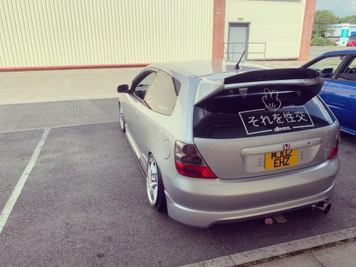 Image of E11evens - Large rear screen JDM decal 'E11evens'
