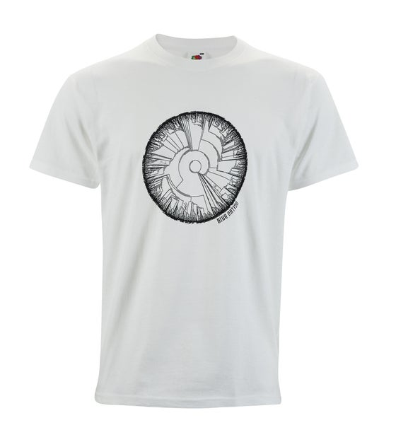 "Image of Blue Nation Official White ""Tree of Life"" T-Shirt"
