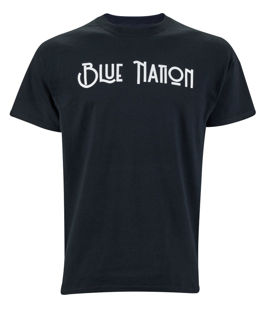 Image of Official Blue Nation Logo T-Shirt