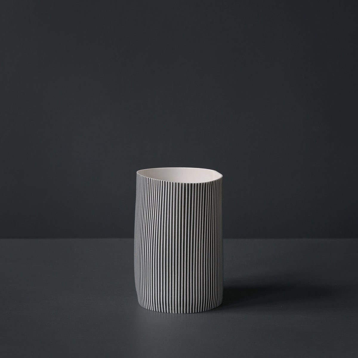 Image of Straight Stripe Vessel #1 by Justine Allison.