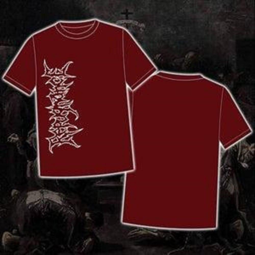 Image of REPUGNANCE maroon T-Shirt