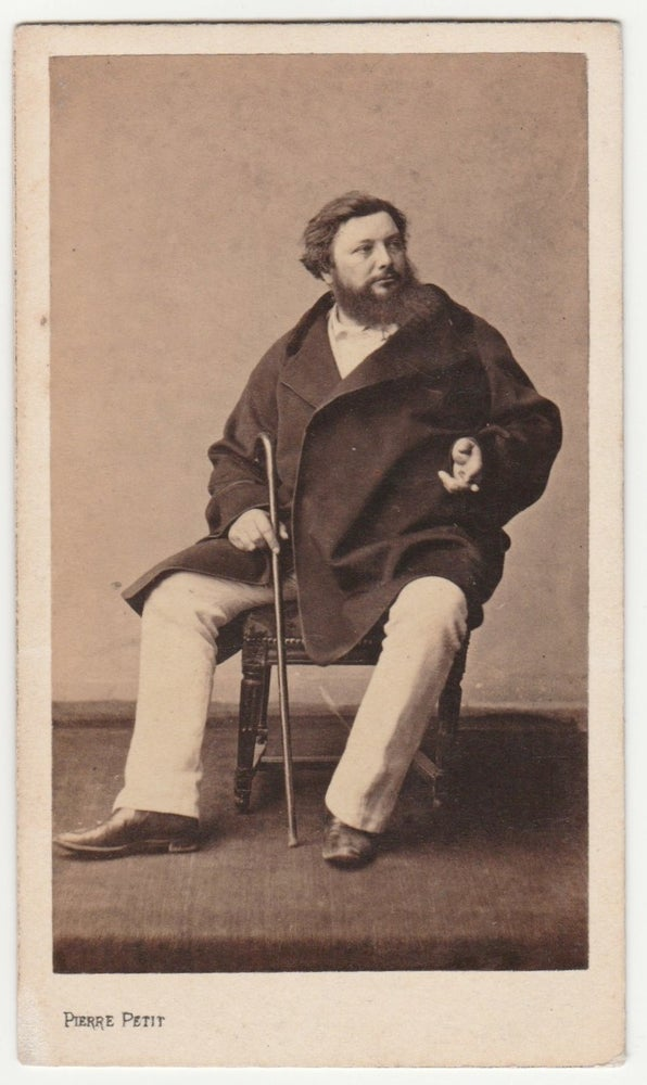 Image of Pierre Petit: Gustave Courbet, ca. 1860