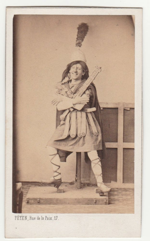 Image of Feyen: funny portrait of an actor, ca. 1860