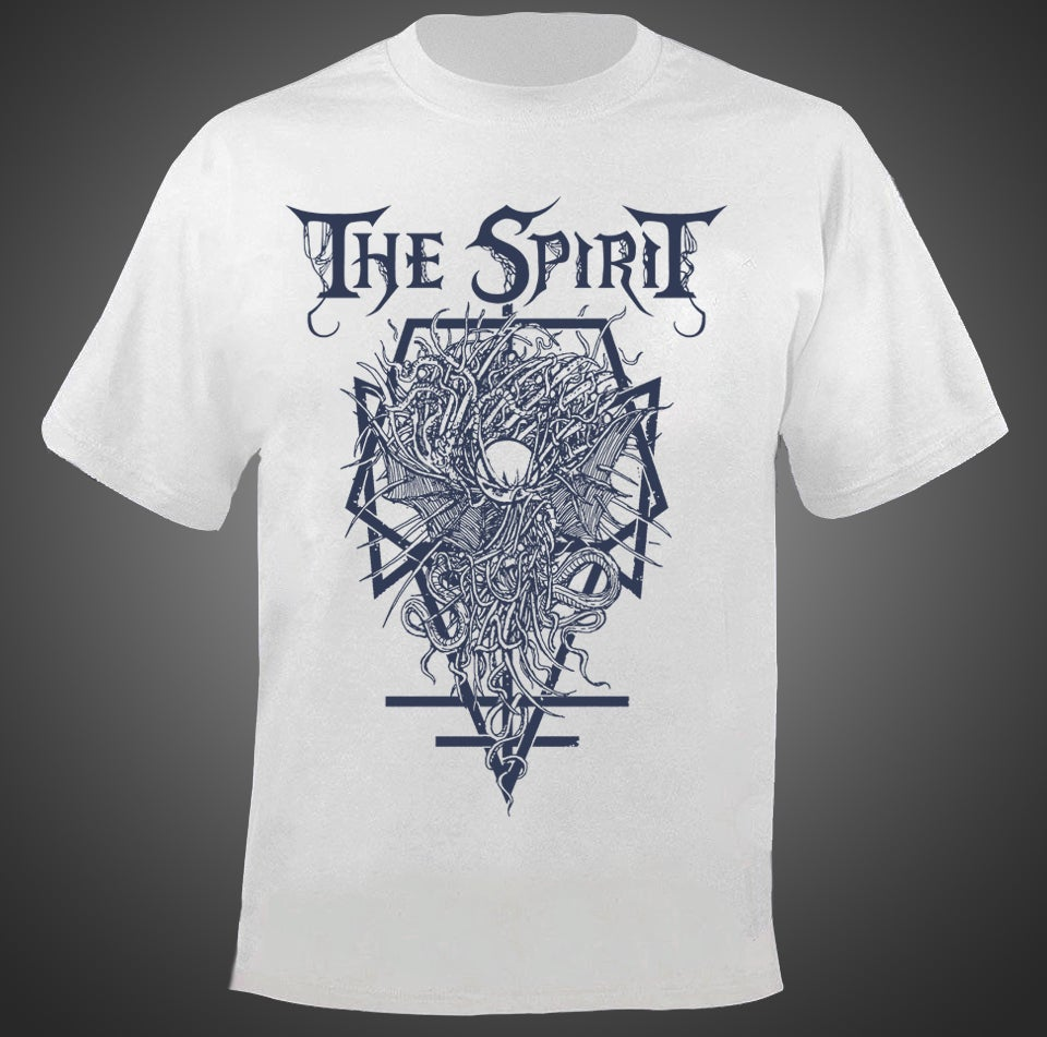 "Image of Shirt ""Symbol of Kaos"" white"