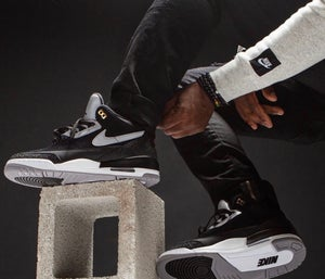 Image of Jordan 3 Tinker Black Cement