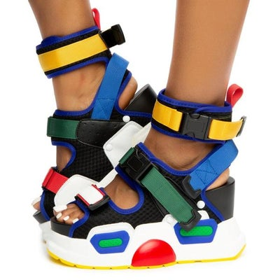 Image of Mulberry Sandal Anthony Wang Multi