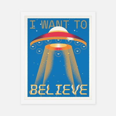 I WANT TO BELIEVE - Sorry.