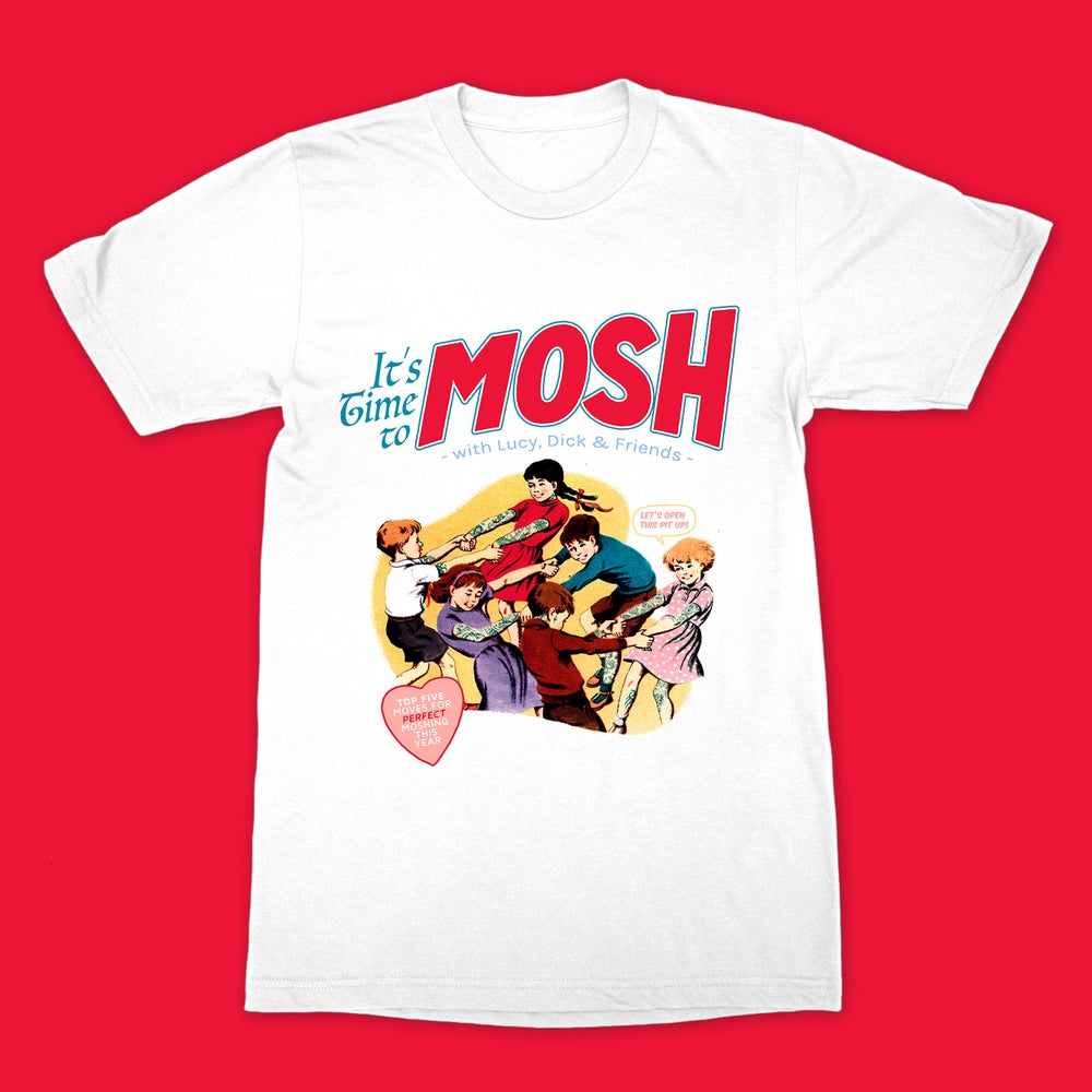 Image of Cute Cult - Mosh (White)