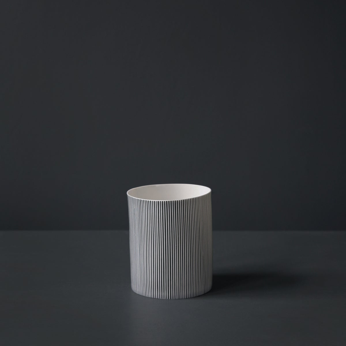 Image of Straight Stripe Vessel #2 by Justine Allison.