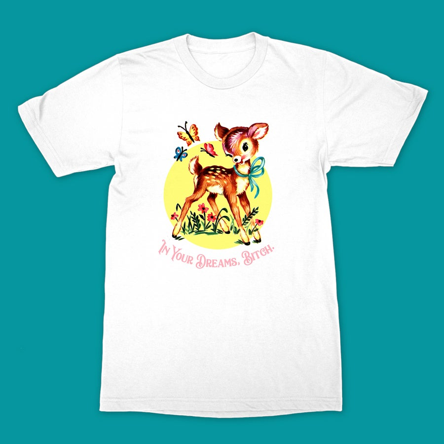 Image of Cute Cult - Bambi Bitch (White)