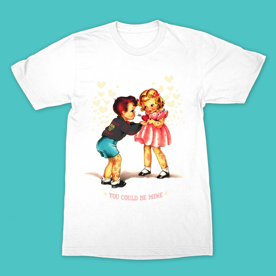 Image of Cute Cult - Be Mine (White)